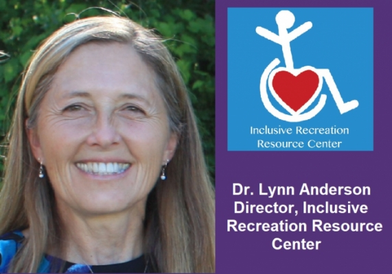 Inclusive Recreation Resource Center Director Dr. Lynn Anderson