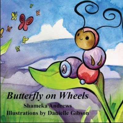 Butterfly on Wheeels book image